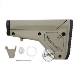 Kublai M4 Adjustable Flex Stock -TAN-