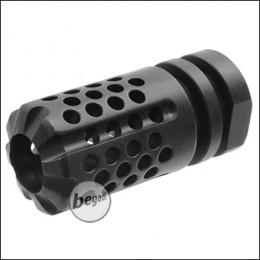 Kublai Multi Hole Flashhider -schwarz-