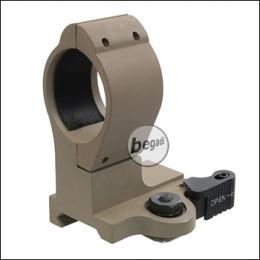 SHS QD 30mm Montagering M2, aus Aluminium -TAN-