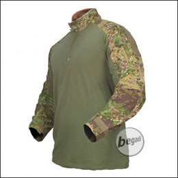 """BE-X FronTier One Combat Shirt, """"Windproof"""", 4 Jahreszeiten, Pencott Greenzone"""