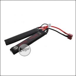 """Begadi """"IMPERIO"""" LiPo Akku 7,4V 1100mAh 25C Double Stick mit Dean"""