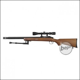 WELL MB02 Sniper Rifle -Roedale Deluxe Edition- mit Echtholz Schaft (frei ab 18 J.)