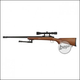 WELL MB07D Sniper Rifle -Roedale Deluxe Edition- mit Echtholz Schaft (frei ab 18 J.)