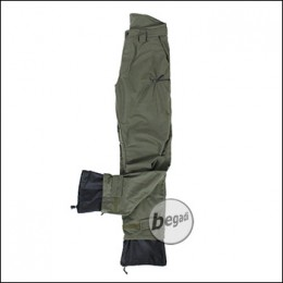"BE-X Softshell Hose ""Forest Walker"", lautlos und wasserdicht, olive"