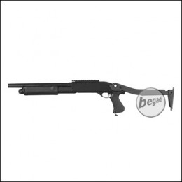 Begadi Sport Metall Shotgun -mit Klappschaft-, Gen.2 mit Toprail (frei ab 18 J.)