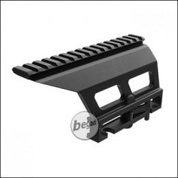 Begadi AK Aluminium QD Montage, schwarz