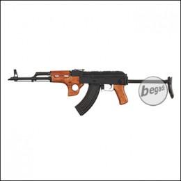 "Begadi AK Sport ""AKMSU"" S-AEG, -Gen.2-, mit Holz Frontgriff (frei ab 18 J.)"