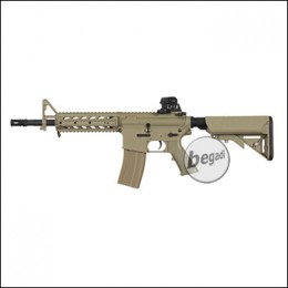 "BEGADI Eco ""Mark 1"" M4 AEG mit Metallgearbox -TAN- < 0,5 J."