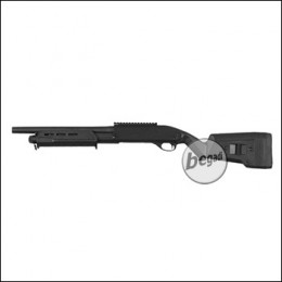 Begadi Sport Metall Shotgun -Advanced Full Stock Edition-, Gen.2 mit Toprail (frei ab 18 J.)
