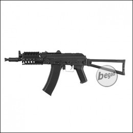 Begadi AK S 74 UN Sport S-AEG mit Rail und Begadi CORE EFCS / Mosfet, schwarz (frei ab 18 J.)