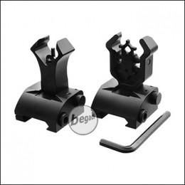 Begadi Klappbares CNC Rear- & Frontsight Set