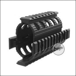 Begadi AK 74 U Tactical Rail System / Handguard -schwarz-