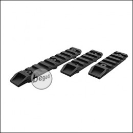 Begadi KeyMod Rail Set Bundle -schwarz- (2x 6cm + 1x 10cm)