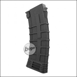 Begadi AK 74 Reinforced Polymer Midcap Magazin (130 BBs) -schwarz-