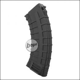 Begadi AK 47 Reinforced Polymer Midcap Magazin (130 BBs) -schwarz-
