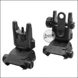 Begadi Sport Tactical FlipUp Sights (flache Version)