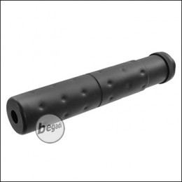 Begadi Sport PD9 Alu Silencer mit 14mm CCW Gewinde (195 x 32mm)