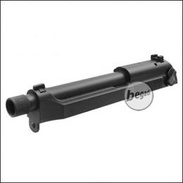 Schlitten für Cyma CM.132 AEP mit 14mm CCW Gewinde (Metallversion) -schwarz-
