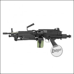 A&K M249 PARA Upgrade LMG AEG, Nylon Version < 0,5 J.