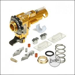 Maxx Model M4 / M16 CNC Alu HopUp Unit ME PRO -goldfarben-