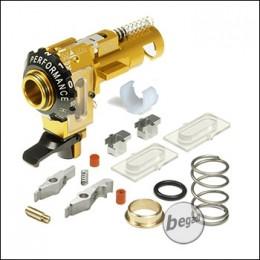 Maxx Model M4 / M16 CNC Alu HopUp Unit MI PRO (ICS, VFC) -goldfarben-
