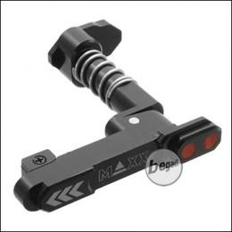 Maxx Model CNC Ambidex Magcatch / Magazinhalter (beidseitig) für M4 / M16 Modelle -Style B- (schwarz)