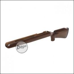 Taring Carving Echtholz Schaft für Modify MOD 24 & SSG24 - Pure Natural