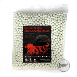 2.000 AIM TOP BIO TRACER BBs 6mm 0,25g -grün-