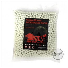 2.000 AIM TOP BIO TRACER BBs 6mm 0,30g -grün-
