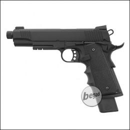 Army Armament M1911 Extended / R32 GBB -schwarz- (frei ab 18 J.)