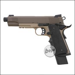 Army Armament M1911 Extended / R32 GBB -TAN- (frei ab 18 J.)