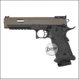 Army Armament R601 HiCapa GBB -Brown Slide Edition- (frei ab 18 J.)