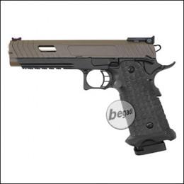Army Armament R601 HiCapa GBB -Brown Slide Edition- (frei ab 18 J.)