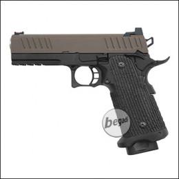 Army Armament R603 HiCapa GBB -Brown Slide Edition- (frei ab 18 J.)