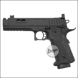 Army Armament R604 HiCapa GBB inkl. RedDot Mount -schwarz- (frei ab 18 J.)
