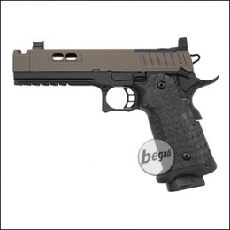 Army Armament R604 HiCapa GBB inkl. RedDot Mount -Brown Slide Edition- (frei ab 18 J.)
