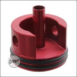 RED DRAGON V2 Aluminium Cylinderhead mit Pad Aufpralldämpfung -rot-