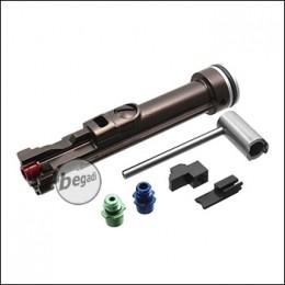 RA-TECH Aluminium Nozzle inkl. Magnetic NPAS für WE M4 / M16 / 416 / 4168G GBB