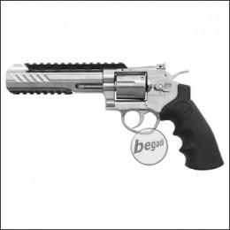 "SRC TITAN 6"" Revolver, lang, silber / chrome, im Koffer (frei ab 18 J.)"