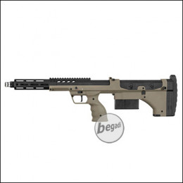 "Silverback Desert Tech SRS A2 Covert Sniper Rifle, 16"" Version -TAN- (frei ab 18 J.)"