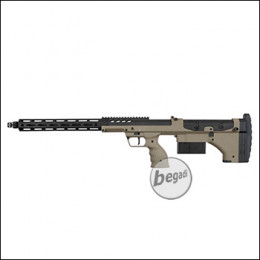 "Silverback Desert Tech SRS A2 Covert Sniper Rifle, 22"" Version -TAN- (frei ab 18 J.)"