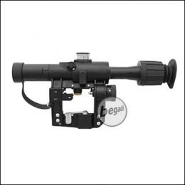 E&L PSO-1-M2 Zielfernrohr für SVD etc., inkl. Metallbox & Tasche
