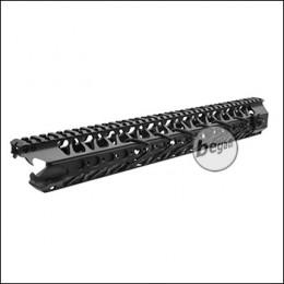 Begadi Viper Handguard 16,5 Zoll / 413mm mit EU Gewinde -schwarz-