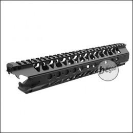 E&C 12,5 Zoll / 318mm LVC Handguard mit EU Gewinde -schwarz-