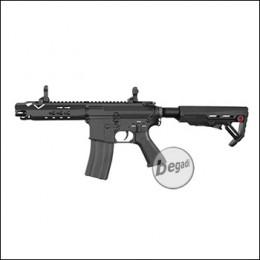 E&C M4 RAPID (Stroked) AEG mit Metallgearbox -schwarz- < 0,5 J.