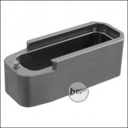 E&C CNC Alu Tactical Magazinschuh / Base Pad (Ziehhilfe) für M4 / M16 Magazine -grau-