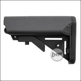 E&C Sopmod M4 Nylon Crane Stock -schwarz-