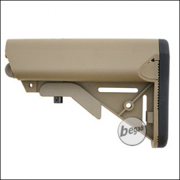 E&C Sopmod M4 Nylon Crane Stock -TAN-