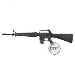 E&C M16 VN S-AEG mit Begadi CORE EFCS / Mosfet (frei ab 18 J.)