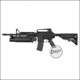 E&C M4 A1 inkl. M203 UGL S-AEG mit Begadi CORE EFCS / Mosfet (frei ab 18 J.)